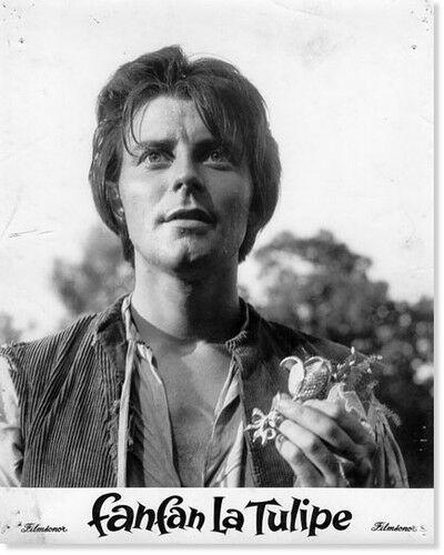Gérard Philipe a Tulipnos Fanfan szerepében