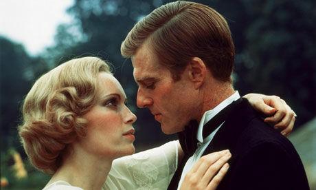 Jelenet A nagy Gatsbyből: Robert Redford és Mia Farrow