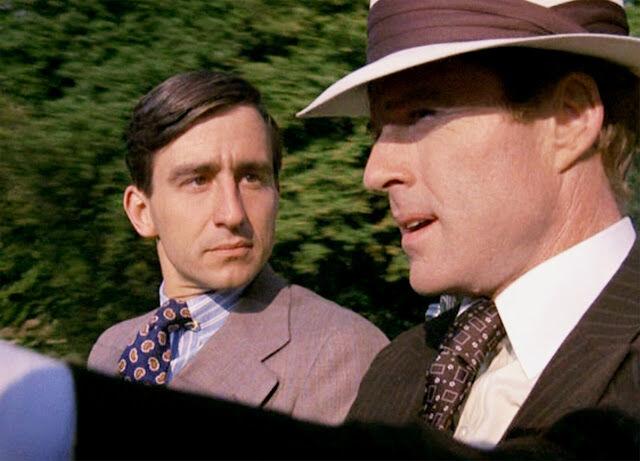 Jelenet A nagy Gatsbyből: Nick és Gatsby az autósjelenetben