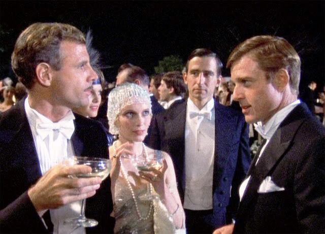 Jelenet A nagy Gatsbyből: a party