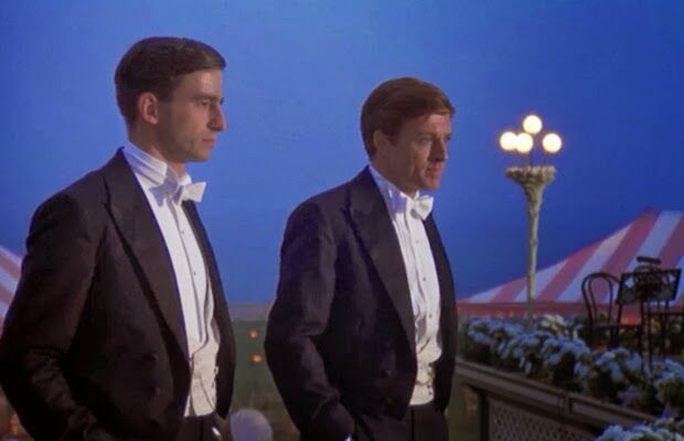 Jelenet A nagy Gatsbyből: Nick és Gatsby