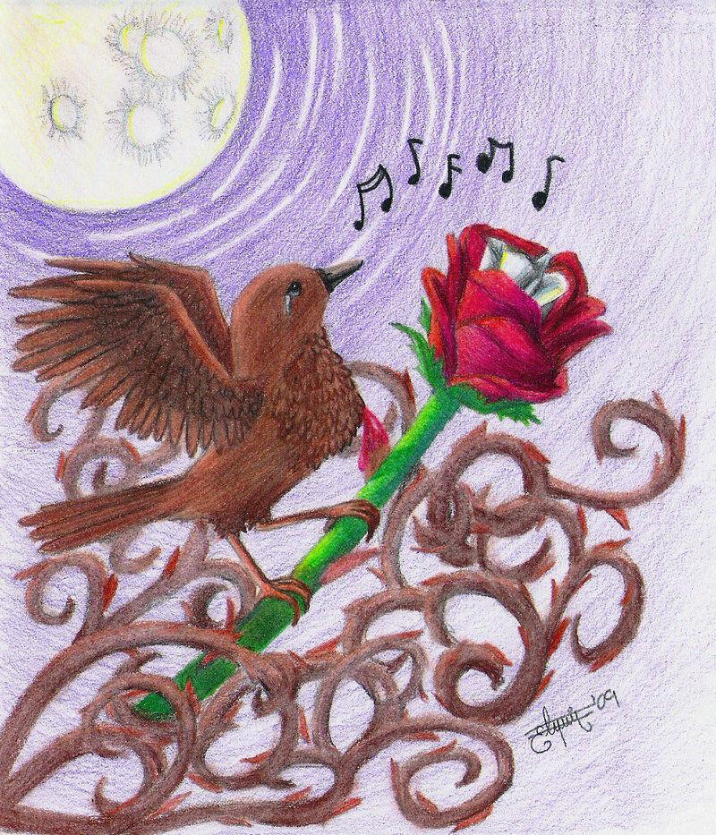 Wilde A csalogány és a rózsa