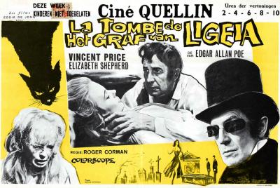 Poe, Ligeia sírboltja, Vincent Price, Elisabeth Stepherd