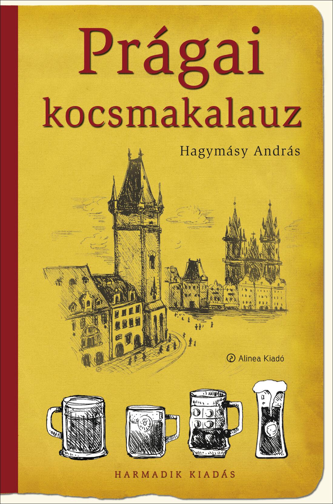 prágai kocsmakalauz, Prága könyv, sörkedvelők, prágai kocsmák