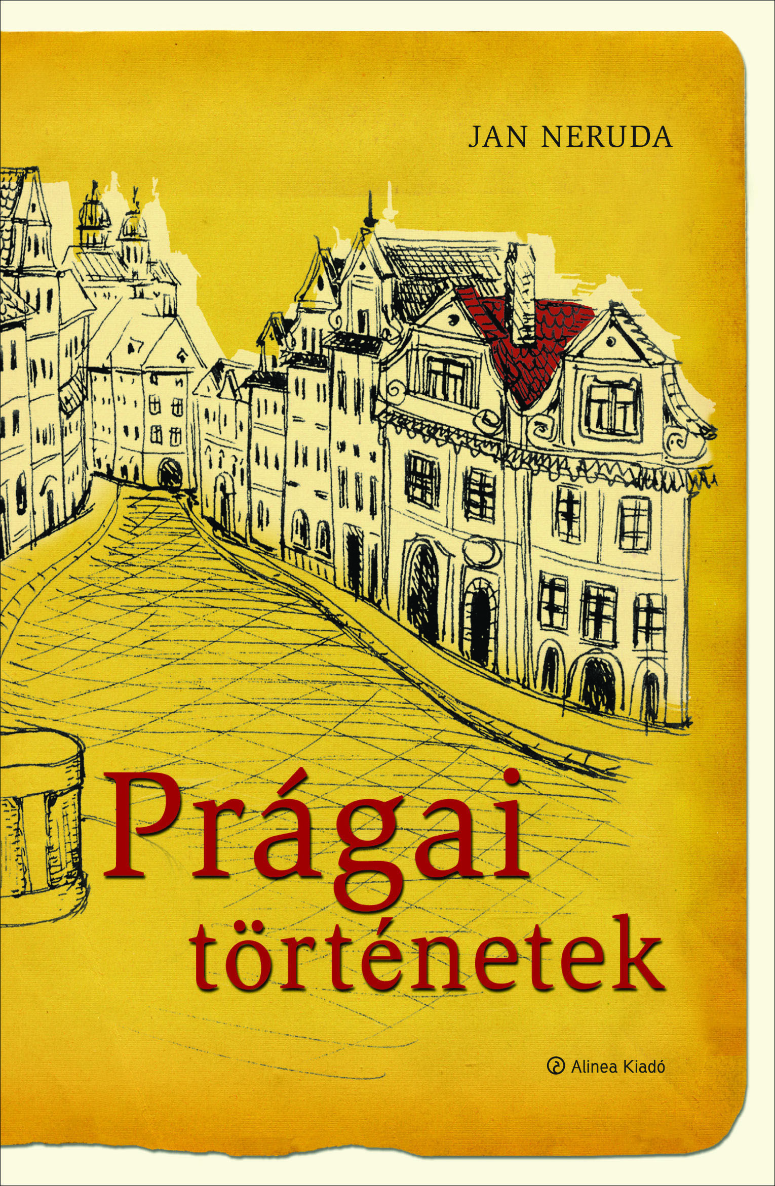 Prága, könyv, novellák, Neruda