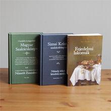 sikerlista, szakácskönyvek, régi receptek, könyvcsomag