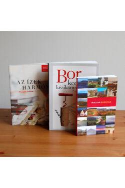 Borkedvelők könyvcsomagja
