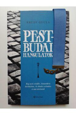 Krúdy Pest-budai hangulatok könyv + Kék szalagos könyvjelző álarc függővel