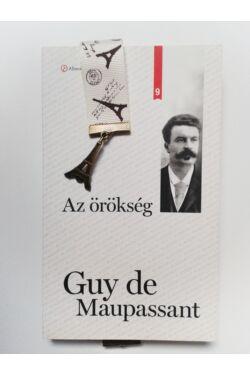 Az örökség könyv + Könyvjelző Eiffel-torony függővel
