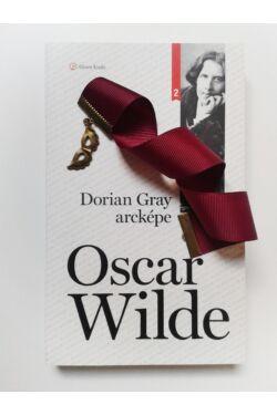 Dorian Gray arcképe könyv + Bordó szalagos könyvjelző álarc függővel