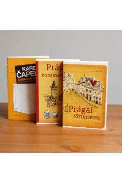 Prága könyvcsomag