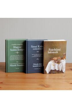 Régi receptek és szakácskönyvek (könyvcsomag)