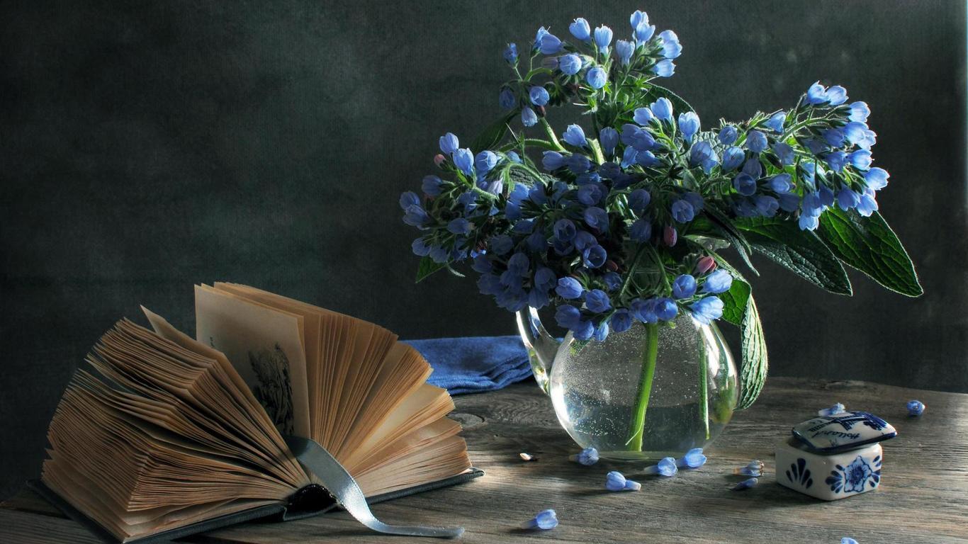 könyv, ajándék, nőnap, virágcsokor