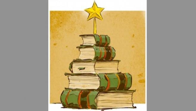 karácsony, ajándék, könyv, karácsonyfa, karásconyi ajándék