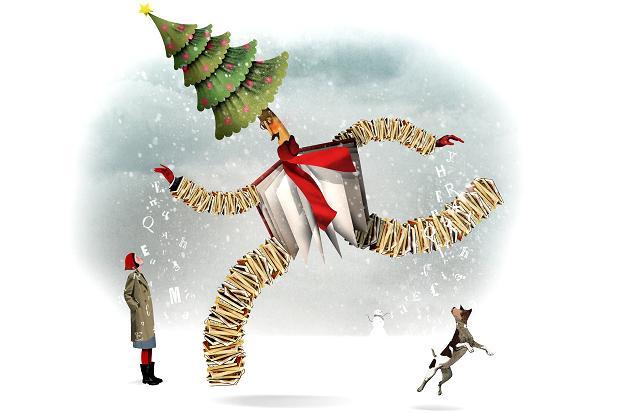 karácsonyfa, könyv, karácsony, ajándék, rajz