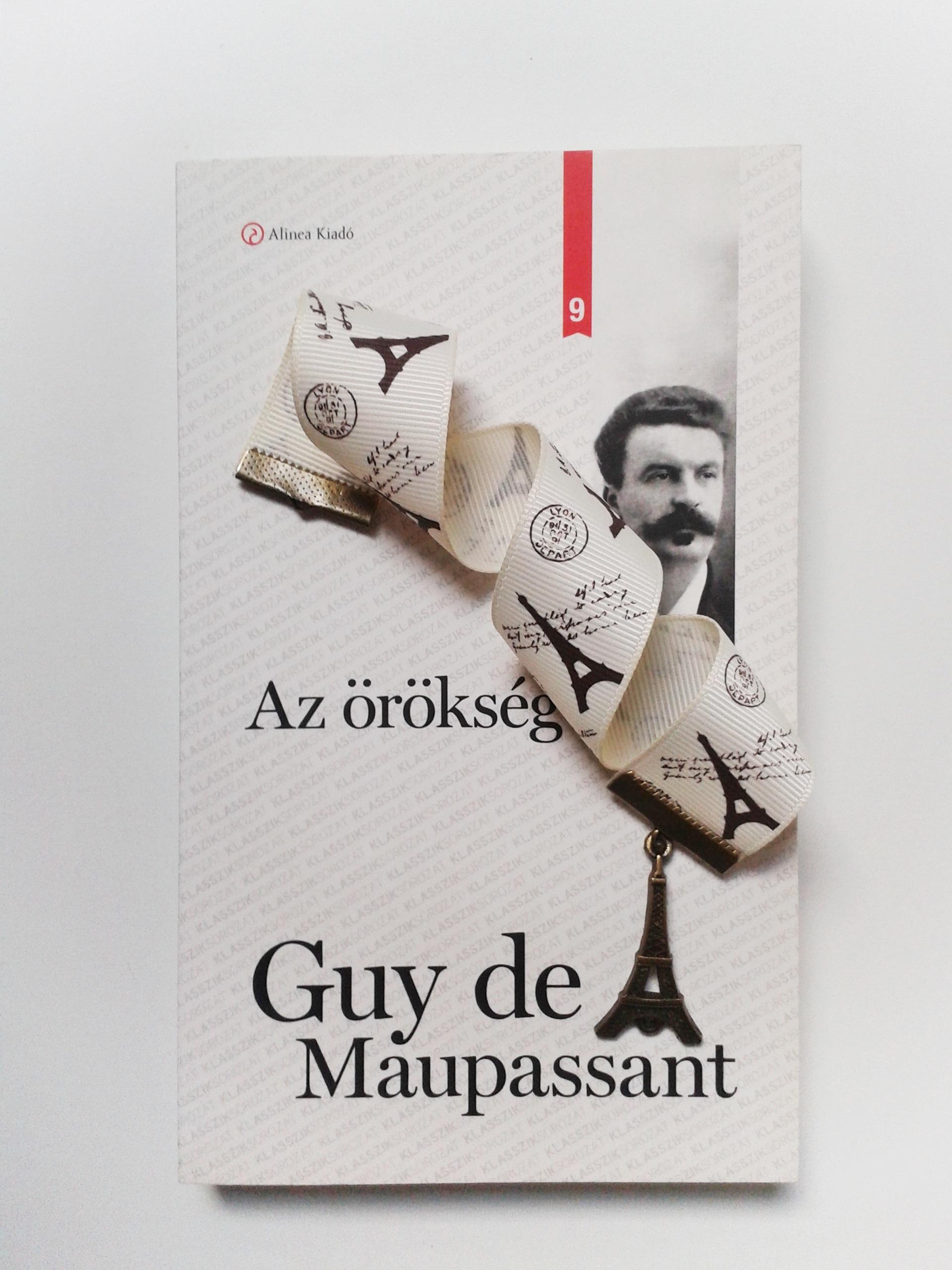 Maupassant, Párizs, könyvjelző