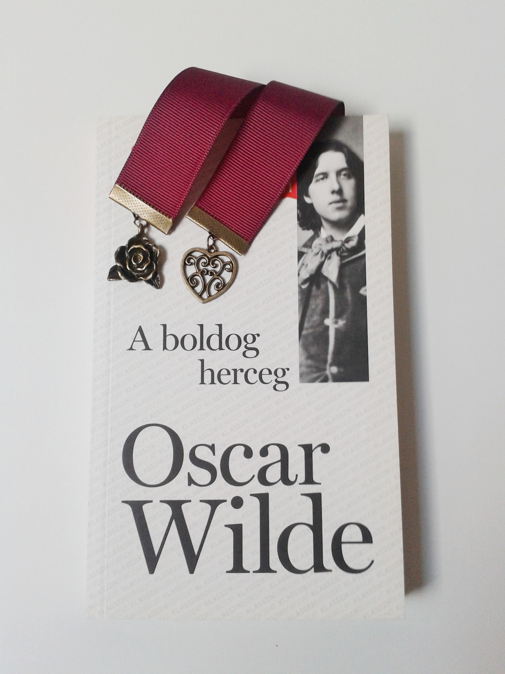 Oscar Wilde, A boldog herceg, könyvjelző