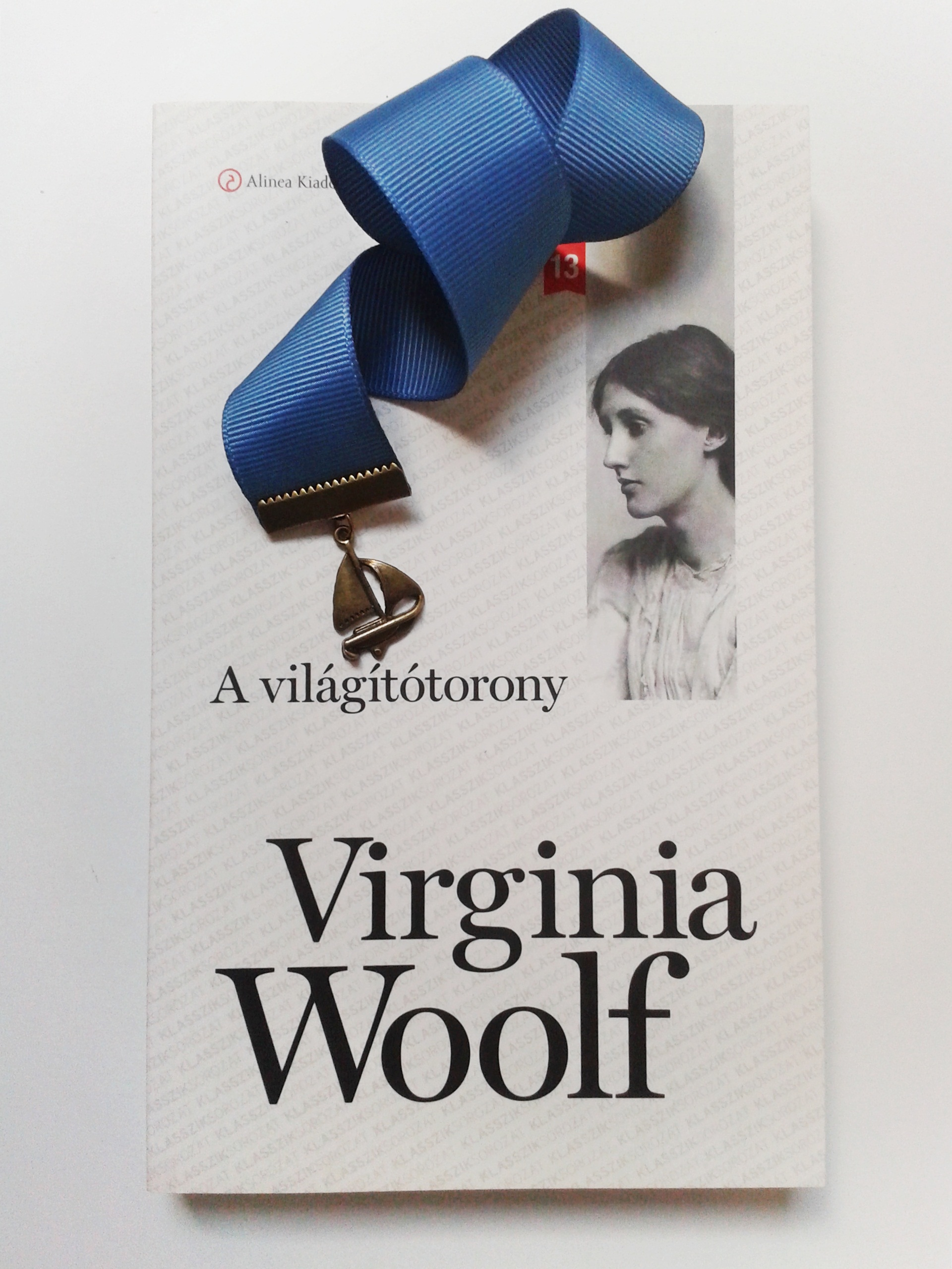 Virginia Woolf, A világítótorony, könyvjelző
